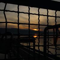 Quadrati e tramonto di