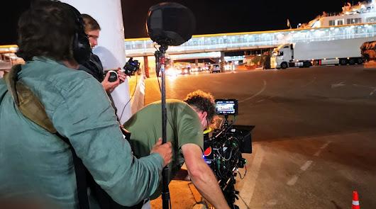 Primeras imágenes del rodaje en el Puerto de Almería