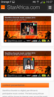 StarAfrica- screenshot thumbnail