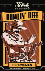 Logo of Wolf Creek Howlin' Hefeweizen