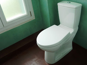 béton ciré dans toilettes et wc de à appliquer soi-même avec béton ciré en kit complet de couleur pour wx déco tendance