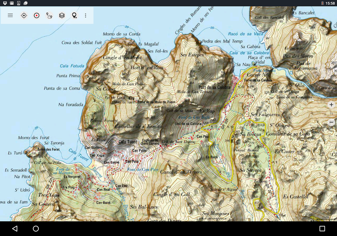Spain Topo Maps Android Apps On Google Play - Us topo maps app android
