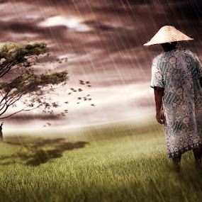 moderate storm by E-Graphic Rider - Digital Art Places