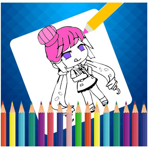 Gacha Coloring Book Art By Pixel Number App Su Google Play