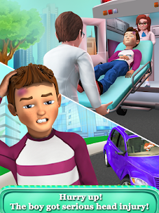 Kids Hospital Emergency Rescue - Doctor Games- screenshot thumbnail