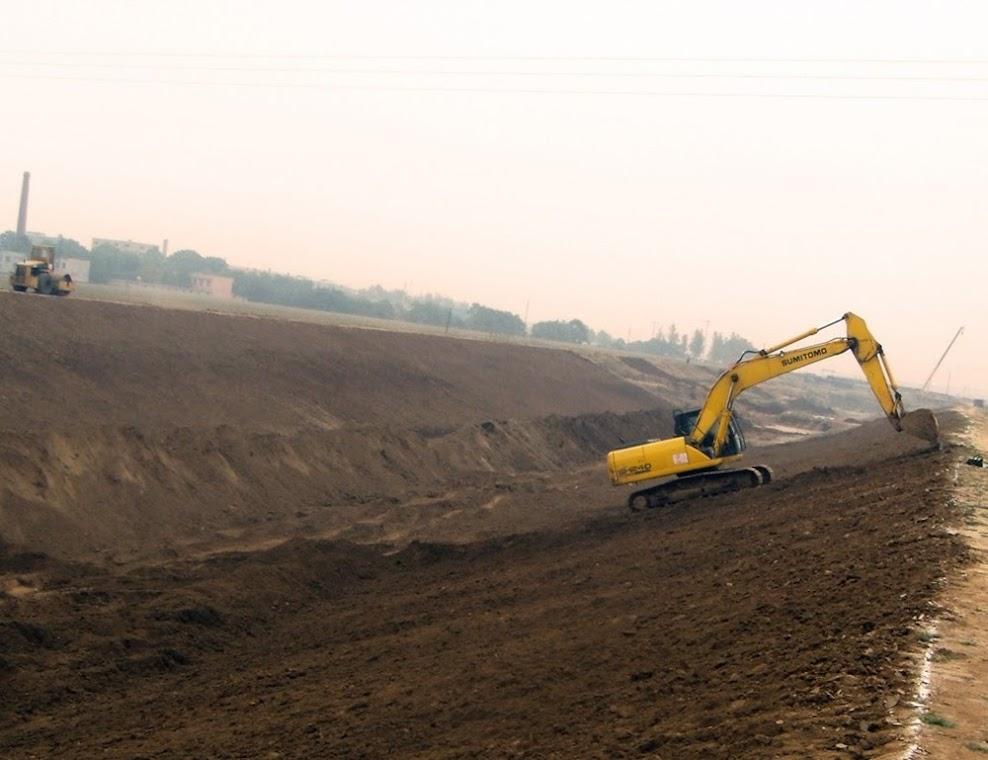 Megaprojeto de desvio de água na China