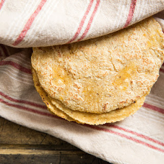 Easy Nixtamalized Corn Tortillas