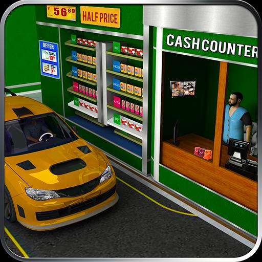 Drive Thru Supermarket 3D Sim