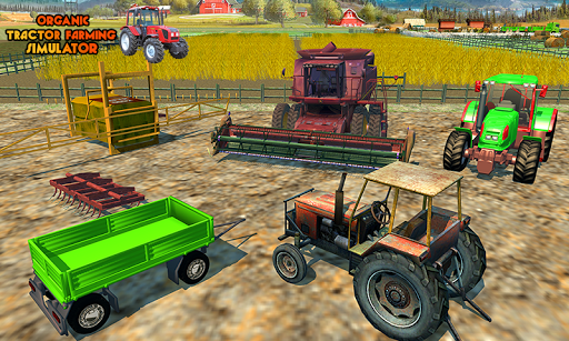 Canada's Mega Organic Tractor Farming SIM 2019 1.0 screenshots 1