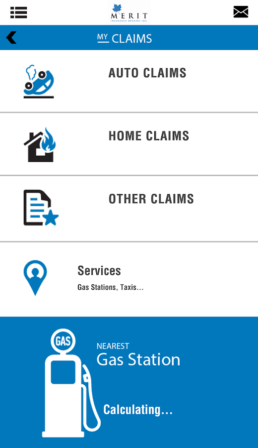 MyMeritInsurance- screenshot