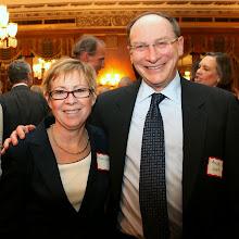 Photo: Chief Justice Paula Carey (Trial Court) with Justice Ralph Gants (SJC).