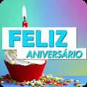 Mensagem de Aniversário: Gif, Áudio, Imagem, Video icon