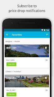 Cheap flights and airline tickets — Jetradar- screenshot thumbnail