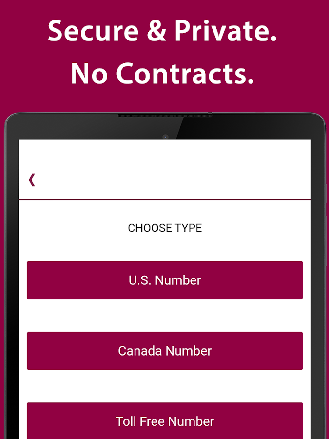 iPlum: US Phone Number, Canada, Toll Free Business- screenshot