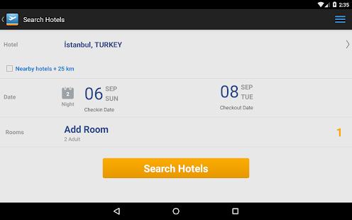 Aerobilet - Flights, hotels- screenshot thumbnail
