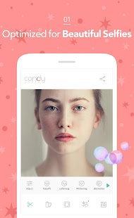 Candy Camera - selfie, beauty camera, photo editor- screenshot thumbnail