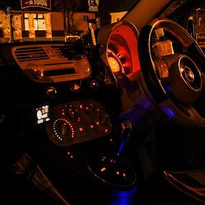 フィアット500 (ハッチバック)  2008-1.4L POPのカスタム事例画像 Shuuu-500さんの2018年11月20日01:55の投稿