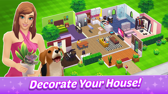 Home Street – Home Design Game MOD (Free Purchases) 1