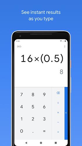 Calculator Android App Screenshot
