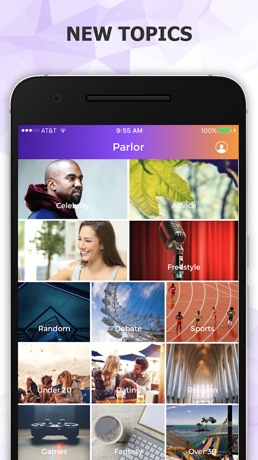 Parlor - Social Talking App- screenshot