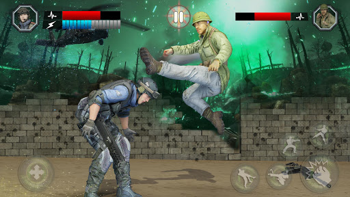 Army Battlefield Fighting: Kung Fu Karate  screenshots 1
