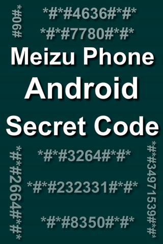 Mobiles Secret Codes of MEIZU 1.0.0 screenshots 1