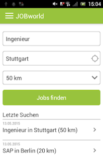 JOBworld Jobsuche- screenshot thumbnail