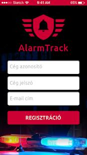 AlarmTrack - náhled