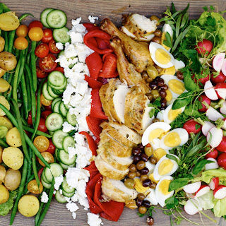 Salad Niçoise with Cold Roasted Chicken