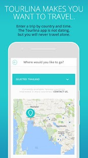 Tourlina - Female Travel App - náhled