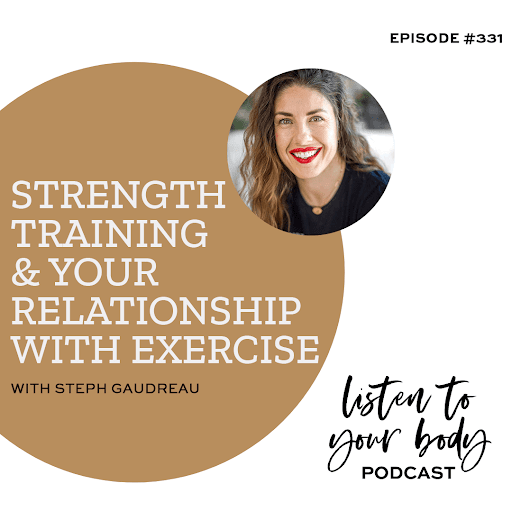 Strength Training & Your Relationship with Exercise