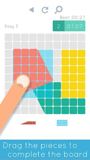 Blocks Shapes: Color Tangram