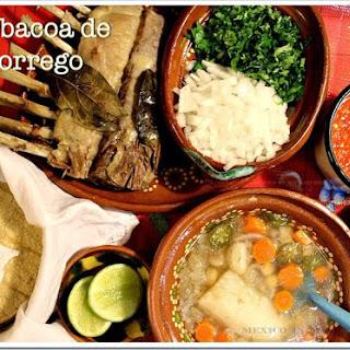 Lamb Barbacoa / Barbacoa de Borrego