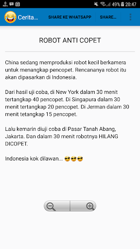 1000+ Cerita Lucu Jaman Now 3.3 screenshots 3