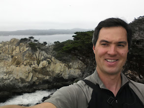 Photo: Point Lobos - I was still figuring out self-snaps, so I wasn't looking at the camera and forgot to take out my headphones