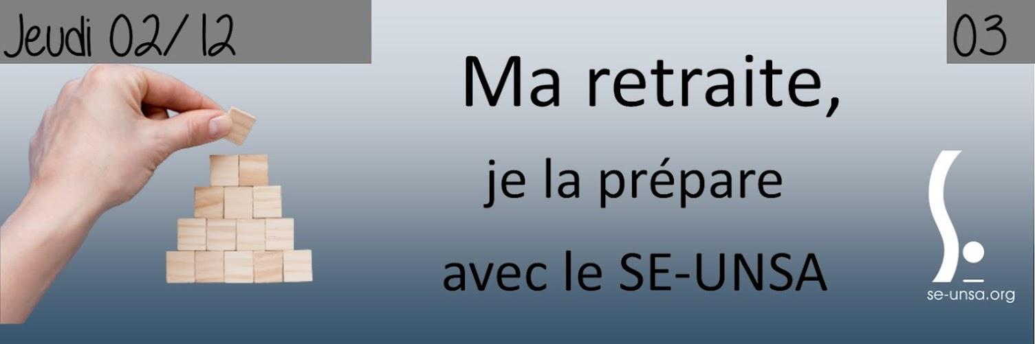 """Stage """"préparer sa retraite"""" du 2 décembre"""