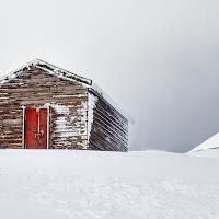 La casina nella neve di