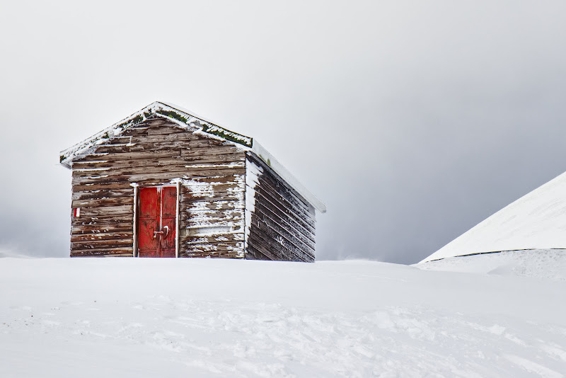 La casina nella neve di Preds