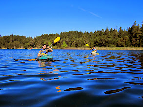Photo: Josiah & Liz kayaking