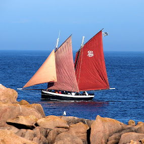 by Philippe Smith-Smith - Transportation Boats ( old, voiles, traditional, fishing, boat )
