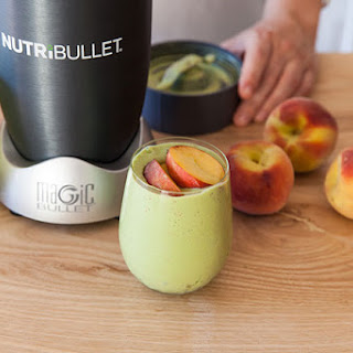 Hello Peach, Spinach and Ginger Smoothie Recipe