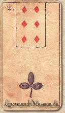 Photo: 1846 A legrégebbről fent maradt Lenormand jóskártya - 2. kártyakép
