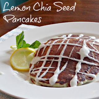 Lemon Chia Seed Pancakes