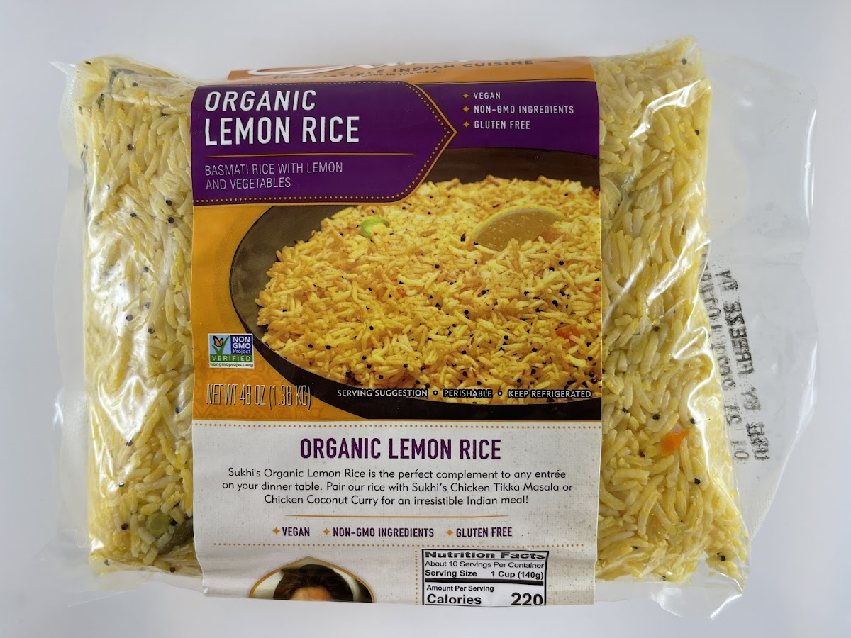 Organic Lemon Rice