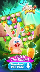 GARDEN MANIA 3 MOD APK DOWNLOAD FREE HACKED VERSION 1