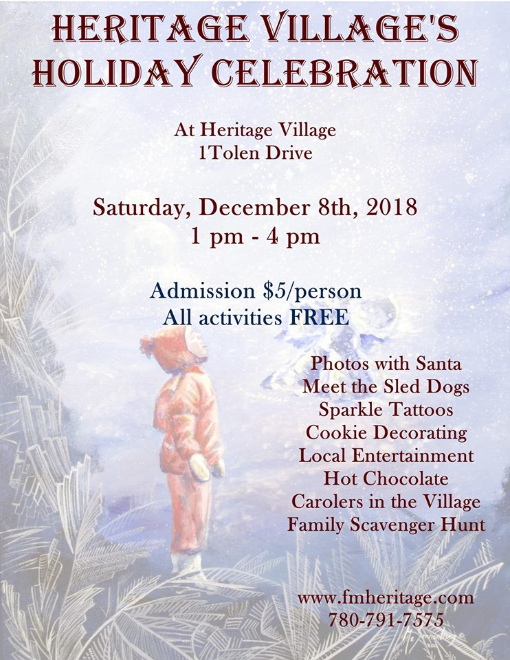 heritage village holiday celebration