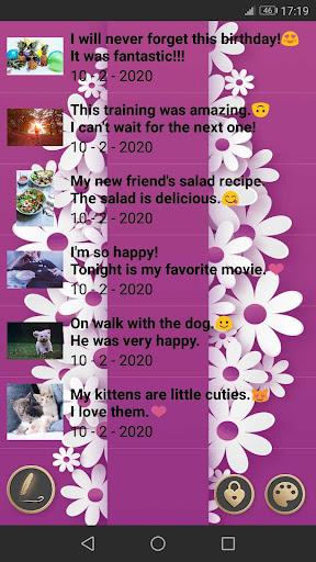 My Diary screenshot 2