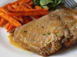 Easy Slow Cooked Pot Roast