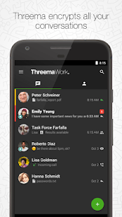 Threema Work- screenshot thumbnail