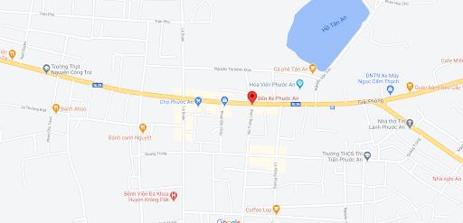 Địa điểm đón/trả khách tại Phước An